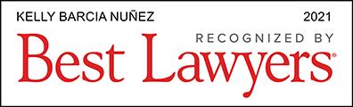 Kelly Barcia Nunez Best Lawyers 2021